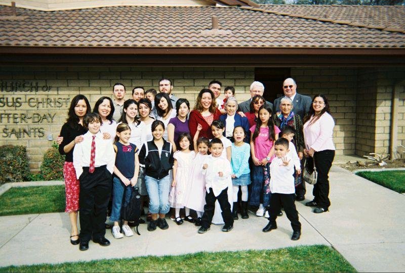 Jessica's Baptism 2006